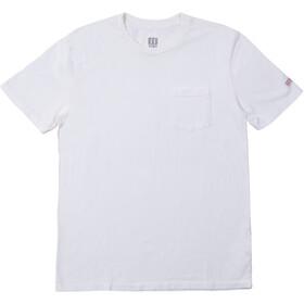 Topo Designs Camiseta Bolsillo Hombre, blanco